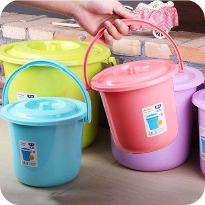 水桶#小水桶塑料桶小號家用提水桶裝水桶...