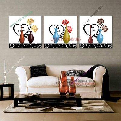 【30*30cm】【厚1.2cm】花瓶-無框畫裝飾畫版畫客廳簡約家居餐廳臥室牆壁【280101_252】(1套價格)