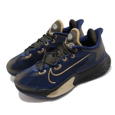 =CodE= NIKE AIR ZOOM BB NXT EP 網布籃球鞋(藍金) CK5708-400 REACT 男