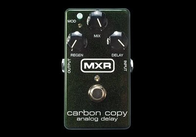[ 反拍樂器 ] Dunlop MXR M-169 Carbon Copy Analog Delay 單顆延遲效果器