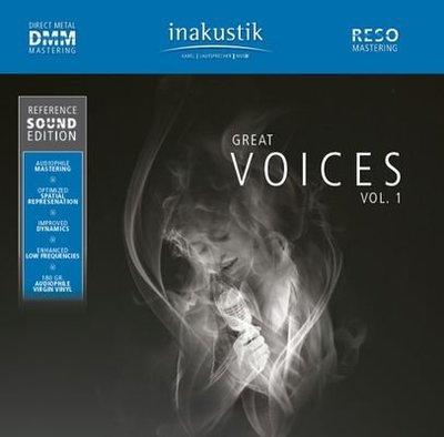 德國美聲 in-akustik  GREAT VOICES VOL.1  LP