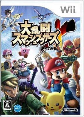 Wii 任天堂明星大亂鬥 X (Super Smash Bros. Brawl) 純日版 二手品