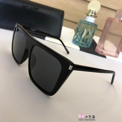 【小黛西歐美代購】2019年 YSL yves saint laurent 時尚飛行 太陽眼鏡 墨鏡顏色4  歐洲代購