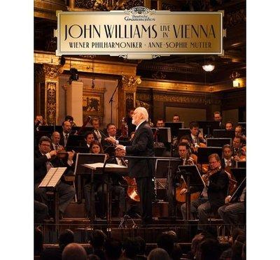 合友唱片 約翰.威廉斯在維也納 / 慕特 / 小提琴 (豪華影音版) (CD + 藍光BD)