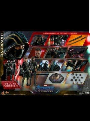 會員優先次日14/4 vip折扣單 Hot toys Avengers Endgame 4 復仇者聯盟 終局之戰 Hawkeye deluxe 豪華版 鷹眼