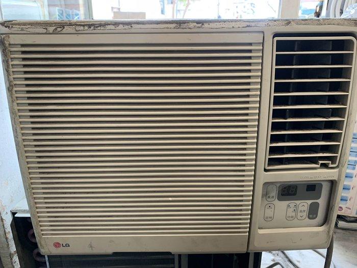 【台北實體店面】 二手 冷氣 LG 右吹 0.8噸 中古 窗型 LW-180 功能均正常 適租屋處 套房 學生 雅房