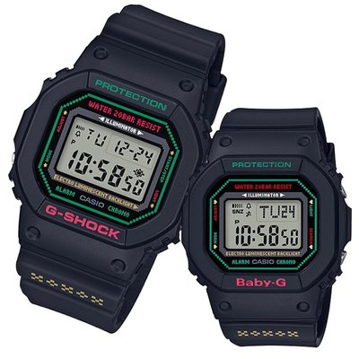 CASIO G-SHOCK X BABY-G G Presents 2019 LOV-19B 情侶裝 GSHOCK X BABYG LOV19B