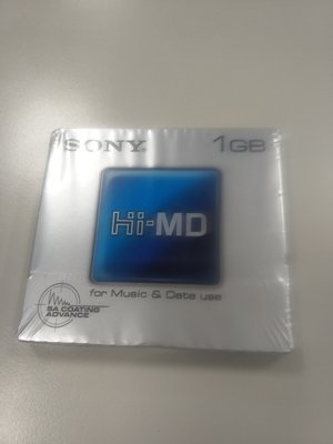 SONY HI MD 1GB  全新MD片限zachary下標。