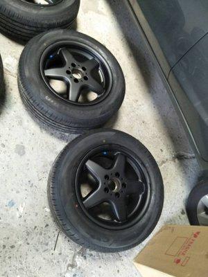 D18111018 VW T4 18吋鋁圈烤漆服務T5 T6 GOLF VENTO JETTA SCODA TIGUAN