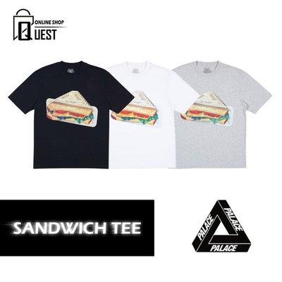 【QUEST】PALACE PLOW T-SHIRT 18SS SANDWICH TEE 三明治 短袖