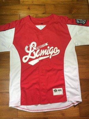 Lamigo 2013 假日紅 球迷版 球衣 夢幻逸品  (WBC、中日交流賽、中華隊、陳金鋒、兄弟象可參考) 台中市