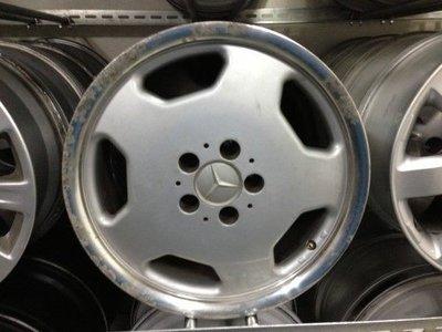 【§◎樺永二手輪胎鋁圈◎§】17吋 賓士 W203、W211 大餅圈  (歡迎詢價/可重烤漆、換色)