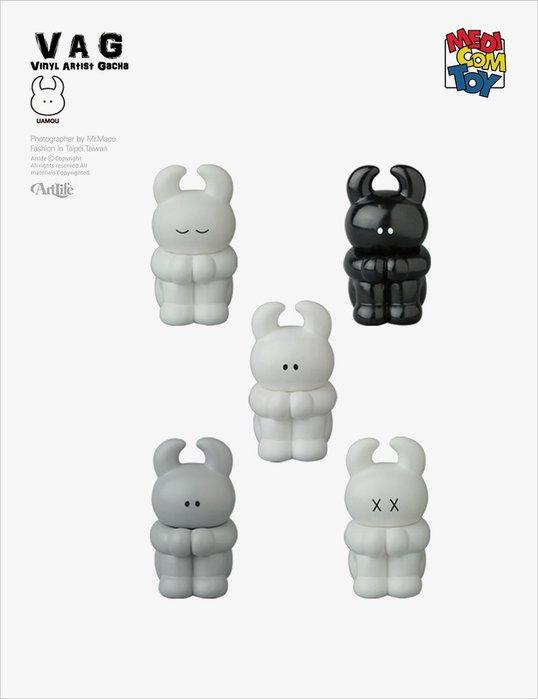 Artlife @ MEDICOM VAG SERIES 13 かんがえる UAMOU 日本設計師