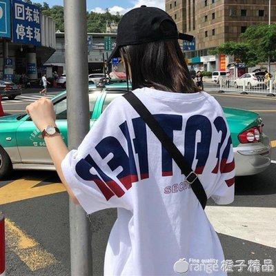 韓國ulzzang原宿風BF短袖t恤女韓版學生百搭ins嘻哈hiphop上衣潮