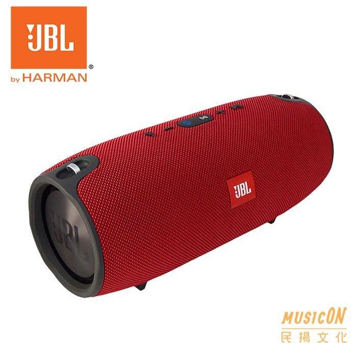 【民揚樂器】戶外便攜音響 超重低音 JBL XTREME-RD 紅色 藍芽防潑水 防水巨砲藍牙喇叭