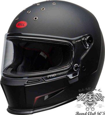 ♛大鬍子俱樂部♛ Bell® Eliminator Vanish 美國 原裝 消光 紅色Logo 全罩 安全帽 黑/紅