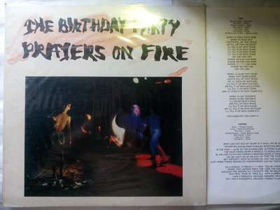 Nick Cave早期團The Birthday Party Prayers On Fire 1981年4月英國4AD