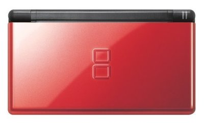 NDS 任天堂 NDS Lite クリムゾン/ブラック 紅/黑 日規主機 (NDSL 紅黑色) 日版 二手品