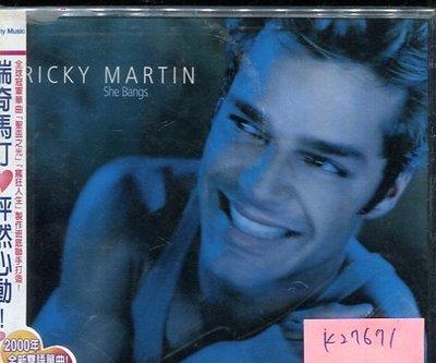 *真音樂* RICKY MARTIN / SHE BANGS 二手 K27671