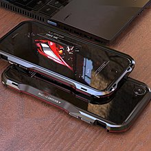 疾速光芒金屬框 iphone xs max i8 plus i7 plus iphone x ix手機殼保護殼【S41】