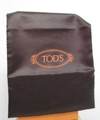 ~TOD'S 直式 鍛面 束口鞋袋/防塵/收納袋 22x32.5cm~