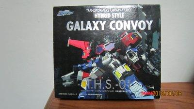 變形金剛 銀河之力TAKARA柯博文HYBRID STYLE GALAXY CONVOY T.H.S-01 超合金