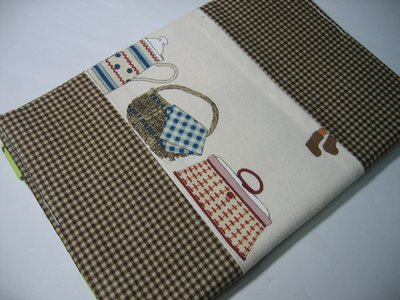 FEN手工小鋪-M系列-皮包款雜貨3布書套-精美-布書衣可適用A5大小書籍-25K筆記本-現貨供應 高雄市