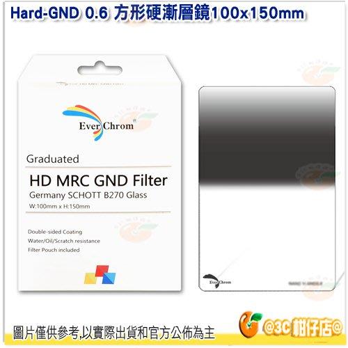 內附磁鐵框 EverChrom Hard-GND 0.6 100×150mm 方形硬漸層鏡 公司貨