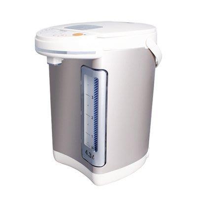 【全新含稅附發票】TECO 東元 4.3L電熱水瓶 YD4301CB