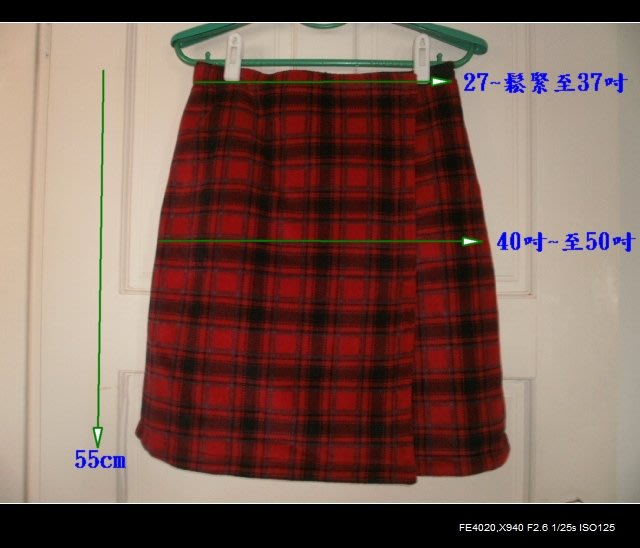 全新◎毛尼兩面(黑/紅)可穿短裙/及膝裙◎輕質保暖◎可當披風◎貼補家用小舖賣場購物累積滿500元,郵寄均免運費^^