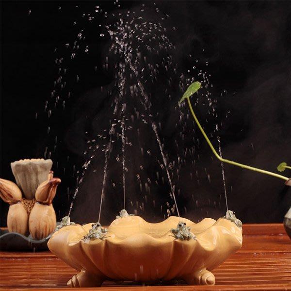 5Cgo【茗道】含稅會員有優惠 19076738326 紫砂茶寵擺件精品噴水茶寵五子登科養壺墊茶具配件茶碗茶趣茶盤配件