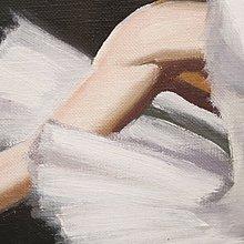 11/27結標 佚名 手繪油畫 芭雷舞者 B11037—家飾 寢室 美術收藏 主題餐廳裝潢 藝術 寫實 流當品 羅浮宮