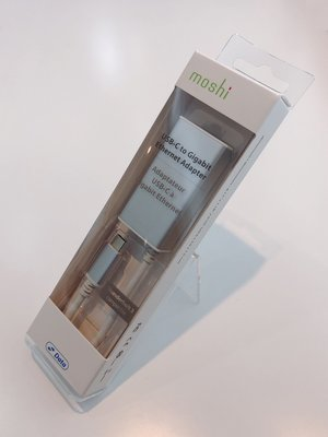 moshi 原廠正品 USB-C to Gigabit 乙太網路轉接線