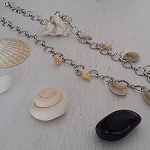 [原創設計]天然海貝殼項鍊頸鏈 可配同款貝殼耳環首飾套裝