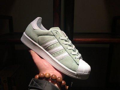 D-BOX  Adidas Superstar W S76154 貝殼頭 板鞋 三葉草 愛迪達 經典 淺玉色
