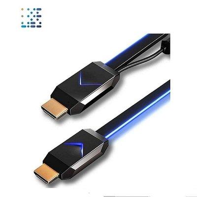 VIVIFY STAR+ 遊戲玩家適用 ARQUUS W73 4K UHD 發光電競光纖HDMI(4.5米)