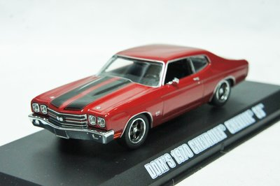 【現貨特價】玩命關頭 Fast & Furious 1:43 Chevrolet Chevelle SS Dom 唐老大