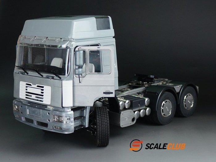 【喵喵模型坊】SCALECLUB 1/14 MAN F2000 6x6 卡車頭 客製化配置