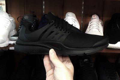 NIKE AIR PRESTO ESSENTIAL 黑色 全黑 魚骨鞋 襪套 基本款 慢跑鞋 848187-011