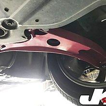 JK Racing 精品 LUXGEN 納智傑 S5 U6 GT220 專用 強化 三角架 -粉- 另有黑色
