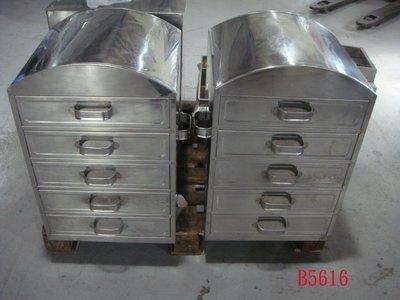 【全冠】二手5層不鏽鋼白鐵蒸籠 筒仔米糕 饅頭 包子 均可蒸 便宜賣~.(B5616)