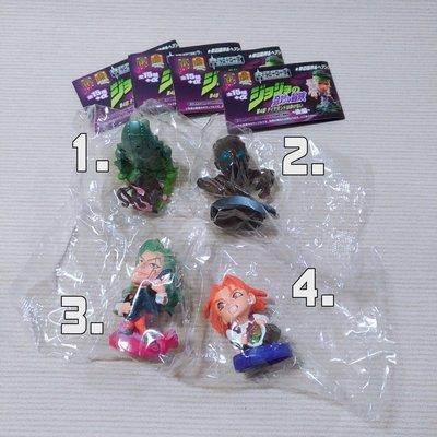 分售 日版 CHARA-HEROES 盒玩  jojo冒險野郎 JoJo的奇妙冒險 Q版公仔 音石明 川尻早人