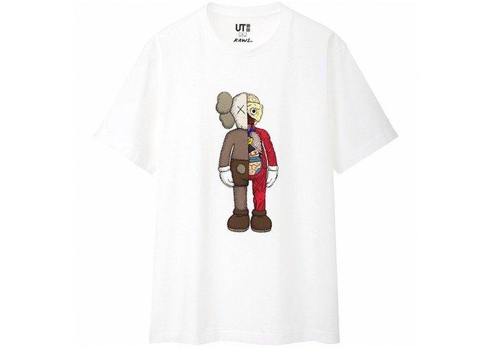 尺寸L 保證真品 Kaws 限量UT短T (x UNIQLO)經典聯名T-Shirt Suprme 優衣庫 潮T