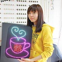 彩光LED燈牌 燈板 看板 加油板 粉絲板 演唱會 簽唱會 後援會 追星 後援會 少女時代 日韓星