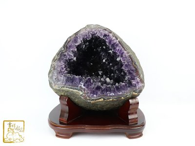 聚人氣 招財-烏拉圭紫晶洞 淨重18.9kg 【吉祥水晶專賣店】編號AN43