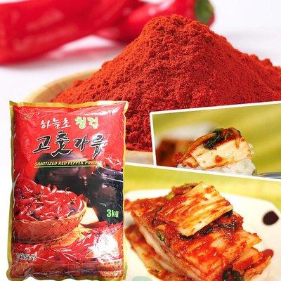 韓國特A級高麗辣椒粉3Kg 細粉/粗粉  韓國料理泡菜必備 [KO8809199] 健康本味