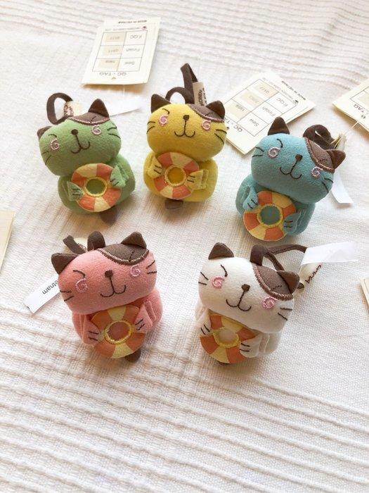 日本卡拉貓~Pon醬甜甜圈吊飾 鑰匙圈