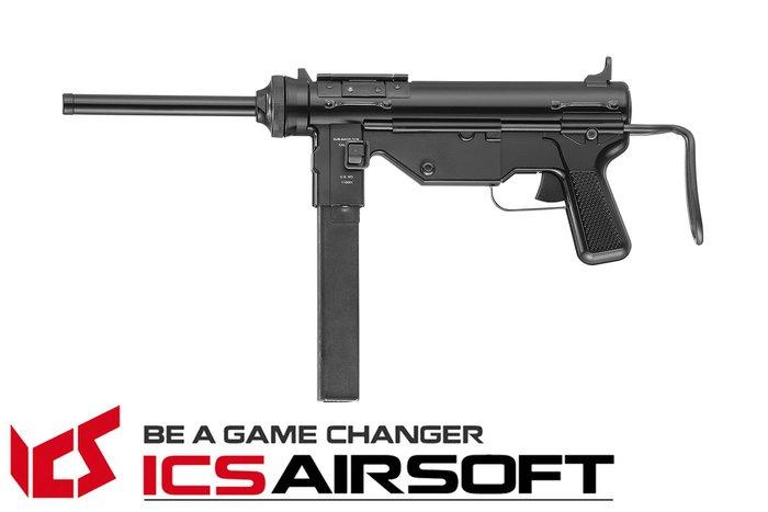 【翔準軍品AOG】ICS M3 黃油槍(黑)二戰槍 電動槍 生存遊戲 ICS-200