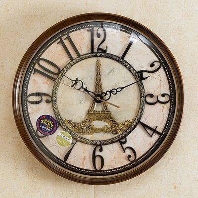 〖洋碼頭〗鐘錶歐式掛鐘石英鐘客廳時尚創意藝術鐘家用復古牆上美式個性時鐘 xtm163