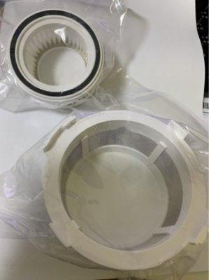 Hepa濾網+外罩網1入  適 【Kolin 歌林】手持無線充電吸塵器(KTC-UD0811)